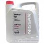Синтетическое моторное масло NISSAN SAE 5W40 SL/CF (9009-0042) (5л) (арт. KE90090042)
